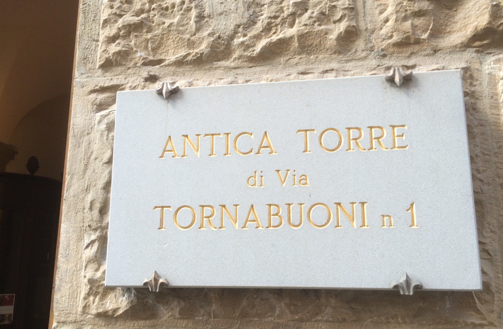 Florence 2015 – Antica Torre di via Tornabuoni | SK / GK Travels