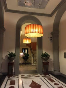 The lobby area, Antica Torre di Via Tornabuoni 1...